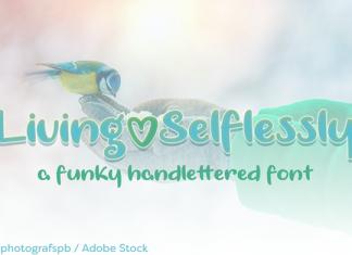Living Selflessly Font