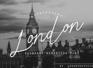 London Ellegant Signature Script Font