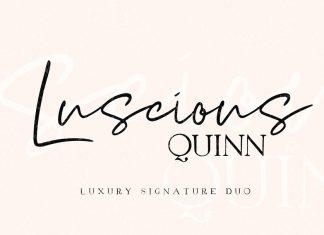 Luscious Quinn Duo Font