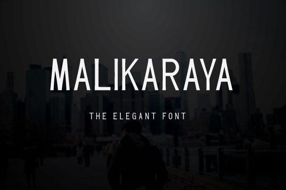 Malikaraya Font