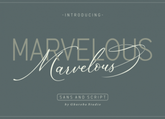 Marvelous Duo Font