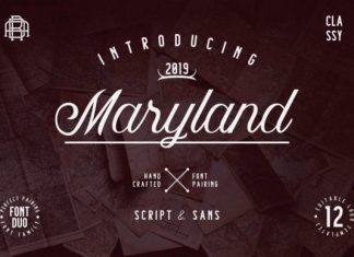 Maryland Family Font