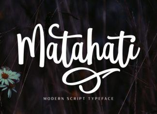 Matahati Font