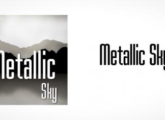 Metallic Sky Font