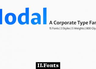 Modal Font Family