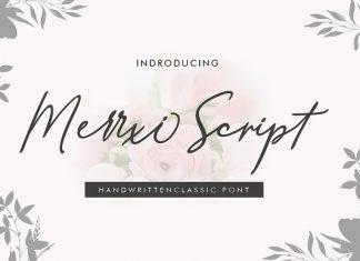 New Merrxi Script Font