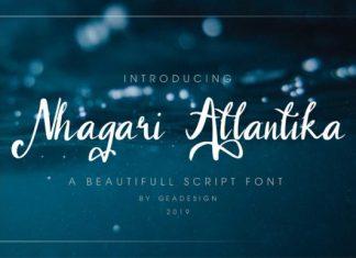 Nhagari Atlantika Font