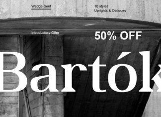 OC Bartok Font Family