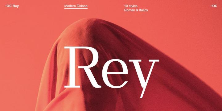 OC Rey Font Family