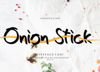 Onion Stick Font