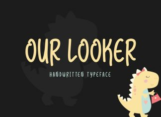 Our Looker Typeface
