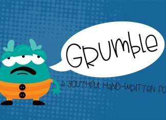 PN Grumble Regular Font