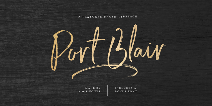Point Blair Font Family