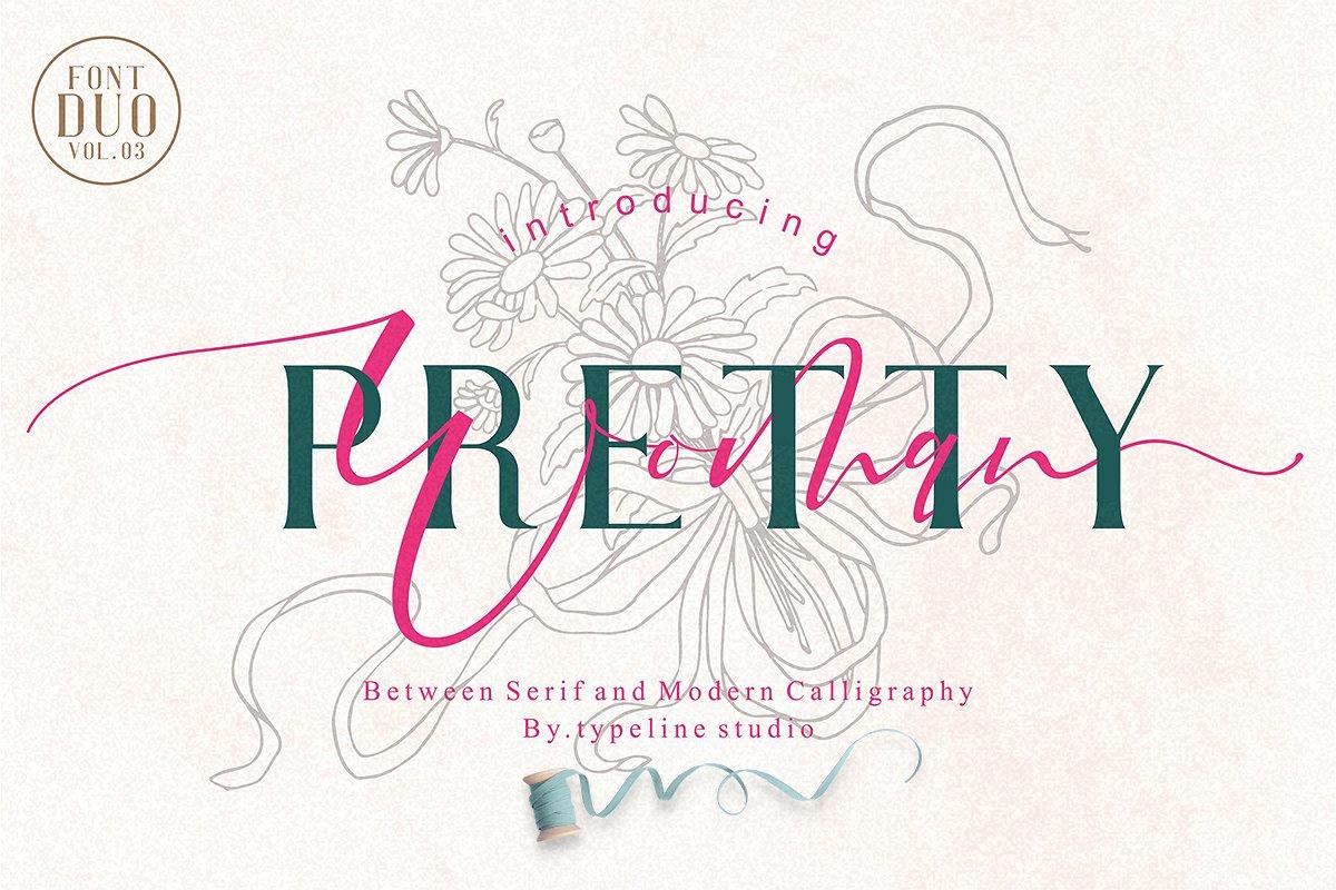 Pretty Woman    Couple Font Duo