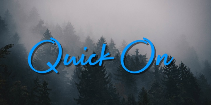 Quick On Font