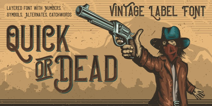 Quick or Dead Font Family