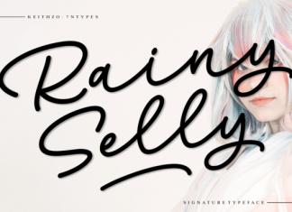 Rainy Selly Font