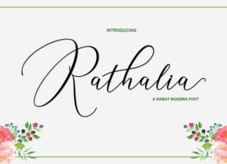 Rathalia Font