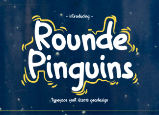 Rounde Pinguins Font