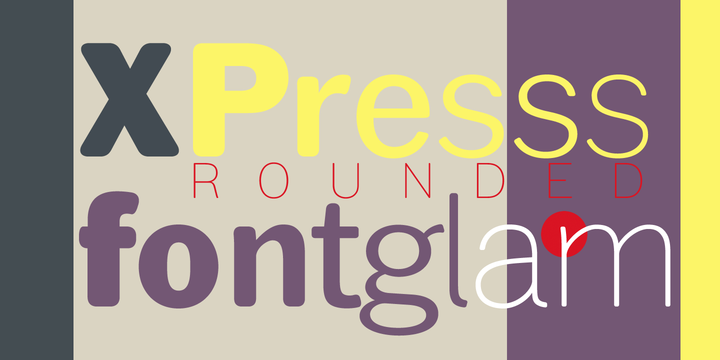 Rounded Font Family