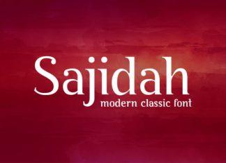 Sajidah Font