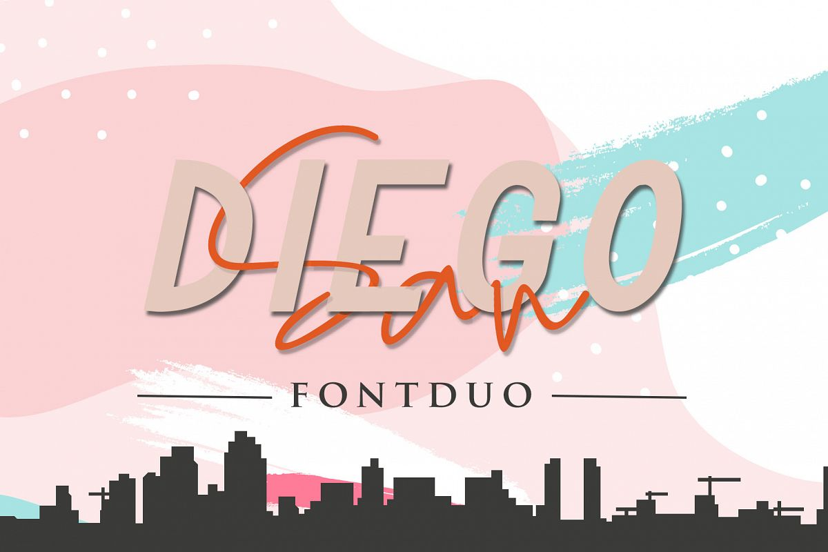 San Diego Font