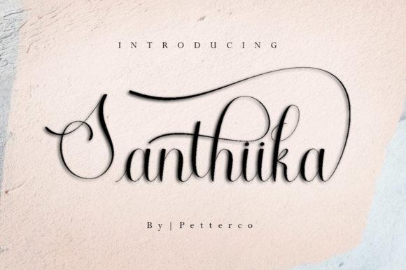 Santhiika Font