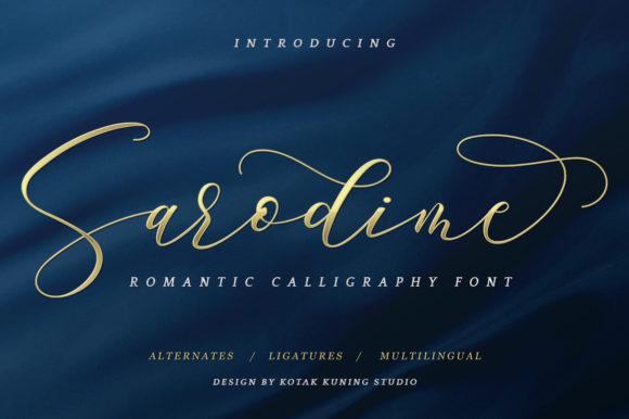 Sarodime Font