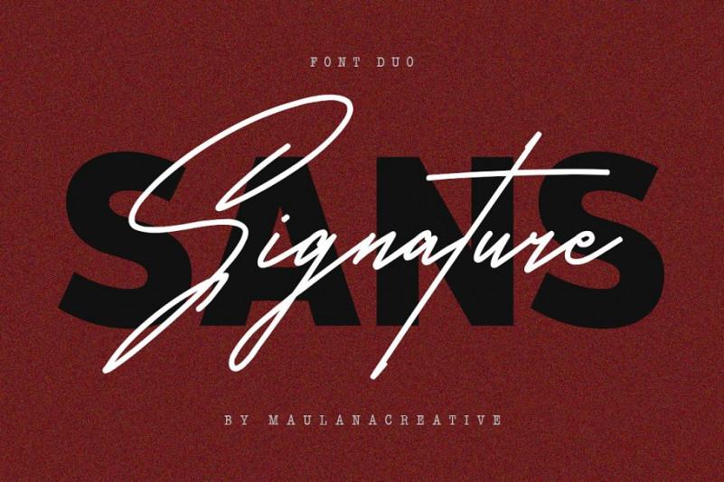 Satilas Signature Font