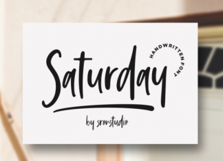 Saturday Vibes Font
