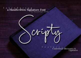 Scripty Font
