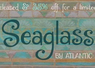 Seaglass Font