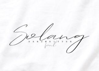 Solang Font