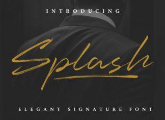 Splash Font