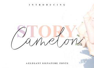 Story Camelon Font