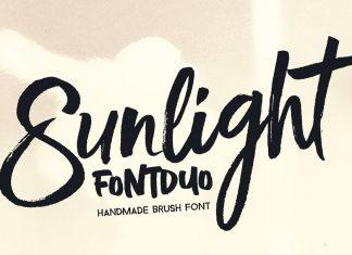 Sunlight - Brush Font