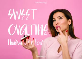 Sweet Ovaltine Font