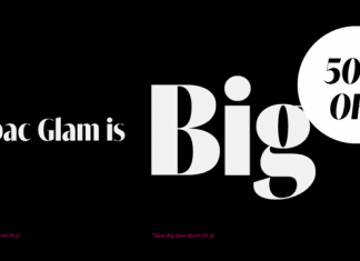 Tabac Big Glam Font Family