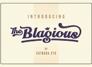 The Blagious Script Font