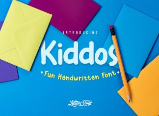 The Kiddos Typeface Font
