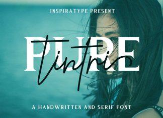 Tintri Pure - Script and Serif Font
