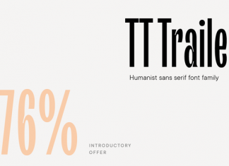 Trailers Font Family
