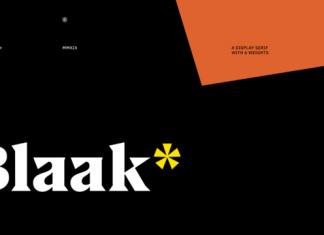 US Blaak Font Family
