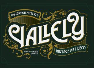 Vallely | Vintage Font