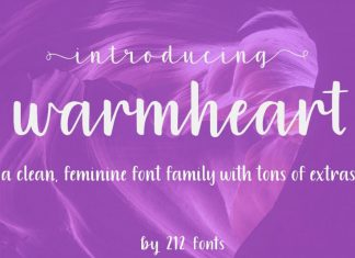 Warmheart Font Family