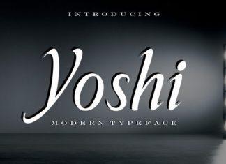 Yoshi Font