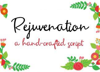 ZP Rejuvenation Script Font