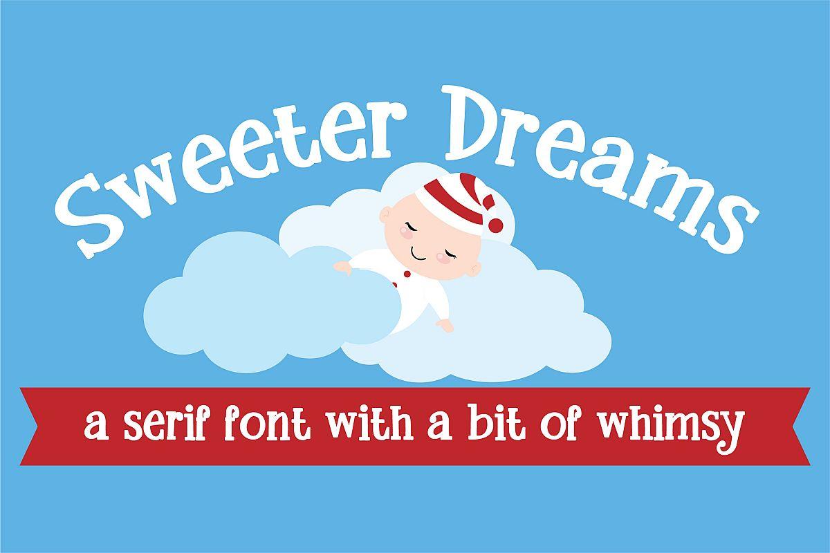 ZP Sweeter DreamsRegular Font