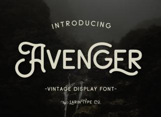 Avenger font