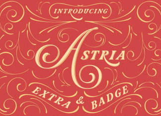 Astria | a hand crafted Font